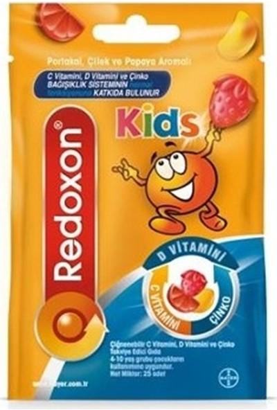 Redoxon Kids Çiğnenebilir Takviye Edici Gıda 25 Adet