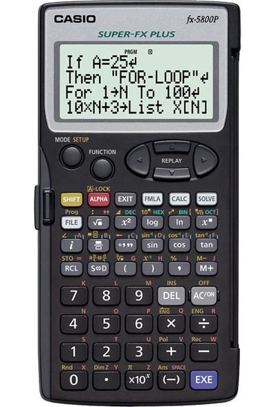 Casio Hesap Makinesi Bilimsel Fx-5800P