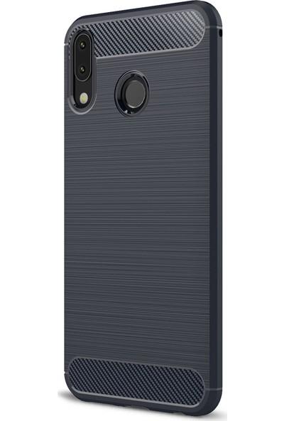 Microsonic Asus Zenfone 5Z (6.2'') ZS620KL Kılıf Room Silikon Lacivert