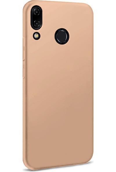 Microsonic Matte Silicone Asus Zenfone 5Z (6.2'') ZS620KL Kılıf Rose Gold