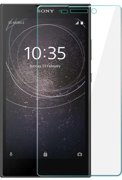 Microsonic Sony Xperia L2 Tam Kaplayan Temperli Cam Ekran Koruyucu Film Şeffaf