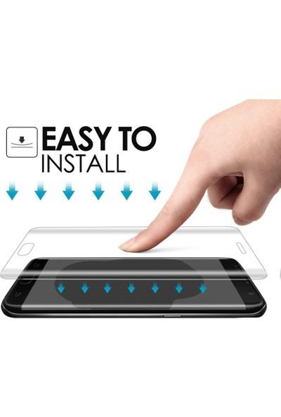 Microsonic Samsung Galaxy J7 Prime 2 Ön + Arka Kavisler Dahil Tam Ekran Kaplayıcı Film