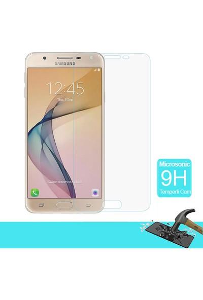 Microsonic Samsung Galaxy J7 Prime 2 Temperli Cam Ekran Koruyucu Film