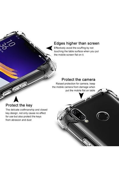 Microsonic Shock Absorbing Kılıf Asus Zenfone 5Z (6.2'') ZS620KL Şeffaf