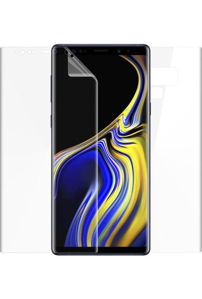 Microsonic Samsung Galaxy Note 9 Ön + Arka Kavisler Dahil Tam Ekran Kaplayıcı Film