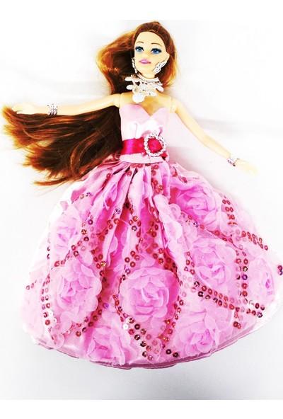 Efe Oyuncak Pembe Elbiseli Fashion Bebek No 218