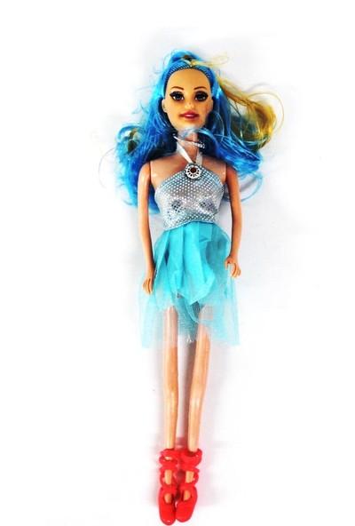 Efe Oyuncak Fashion Et Bebek 988C Mavi Elbiseli