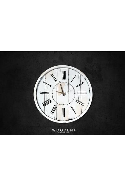Woodenplus Marka Retro Serisi Duvar Saati