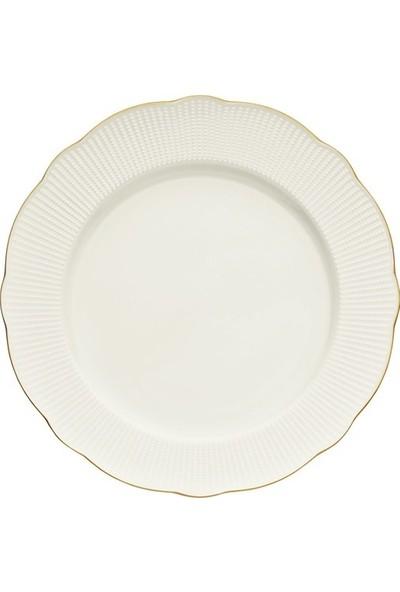 Kütahya Porselen Bone İlay 24 Parça Yemek Takımı