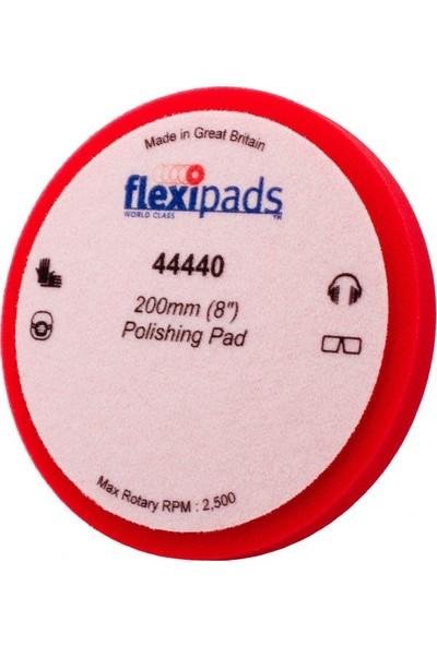 Flexipads Rotary Kırmızı Cila Süngeri 200mm