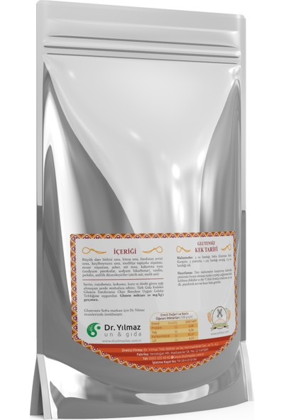 Glutensiz Sofra Kek Karışımı 500 gr