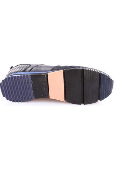 Dgn 3290 Erkek Eva Taban Dikişli Sneakers Ayakkabı Laci Yakma