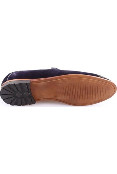 Dgn 40422 Erkek Püsküllü Makosen Mıcrolıte Klasik Ayakkabı Laci Süet