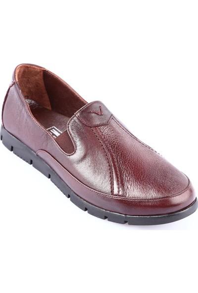 Dgn 800 Kadın Kauçuk Taban Casual Ayakkabı Kahve