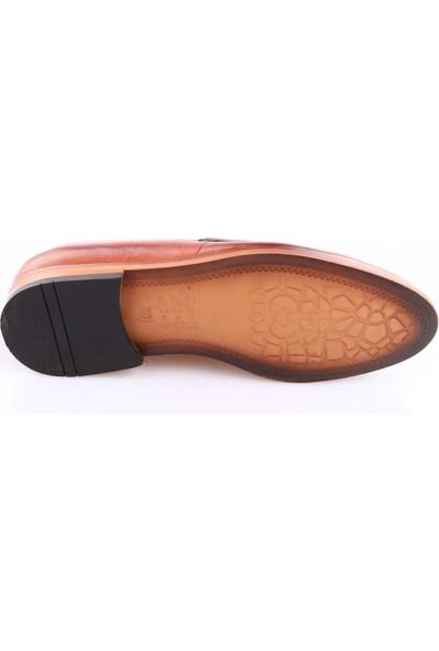 Dgn 8303 Erkek Neolit Taban Makosen Klasik Ayakkabı Taba