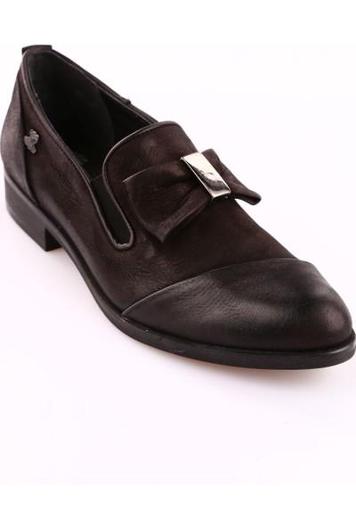 Venüs 8K145430K Kadın 145430K Ayakkabı Siyah Nubuk Siyah