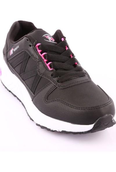 M.P 182-6916Zn Kadın 182-6916 Zn Fasıon Line Spor Ayakkabı Siyah