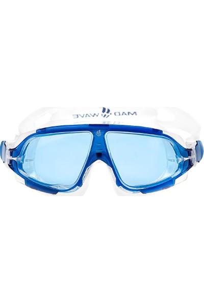 Madwave Sight Iı Mavi Maske Yüzme Gözlüğü