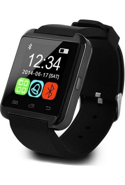 Wotechs U8 Plus Android ve iPhone Uyumlu Akıllı Saat - Siyah