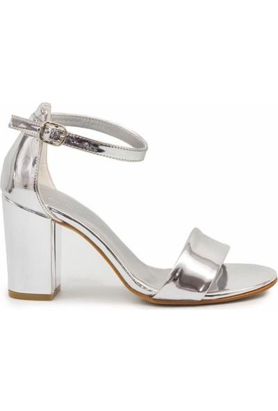 Gedikpaşalı 8Yab 02 Lame Klasik Kadın Sandalet