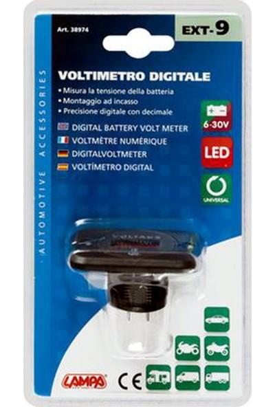 Lampa Ext-9 Dijital Voltmetre 6/30V 38974