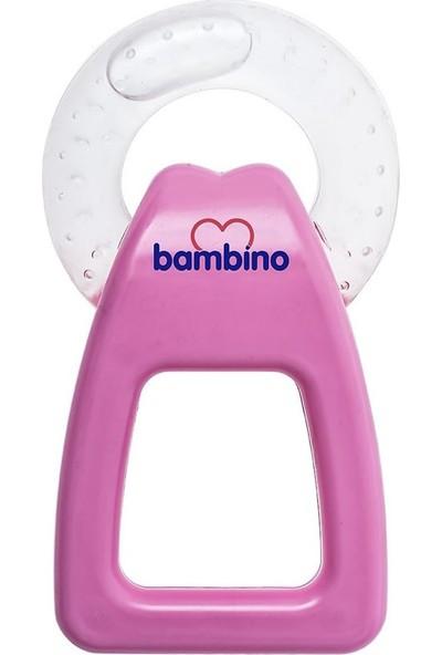 Bambino Tutma Saplı Sulu Diş Kaşıyıcı Pembe