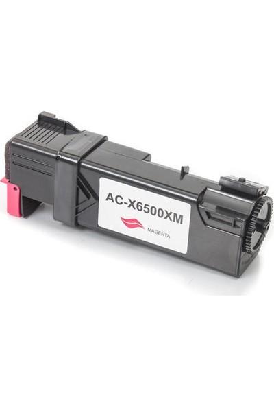 Prıntpen Xerox Phaser 6500 Wc 6505 106R01602 Hc Kırmızı Toner