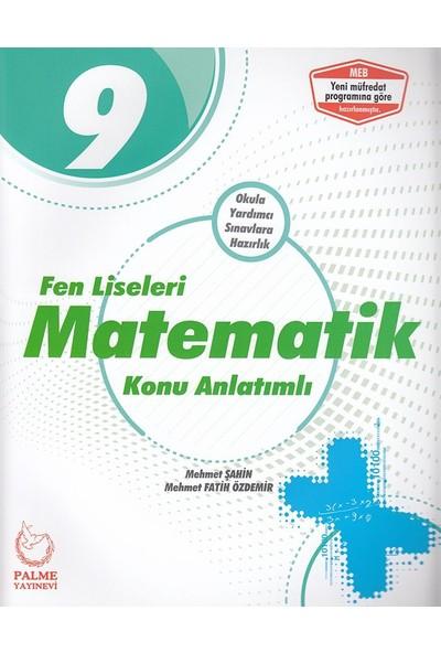 Palme 9. Sınıf Fen Liseleri Matematik Konu Kitabı - Mehmet Şahin - Mehmet Fatih Özdemir