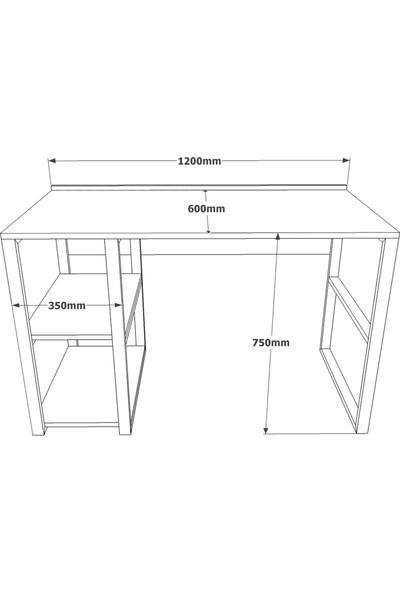 Yurudesign ML11 Iron Metal Çalışma Masası Seti 2.Kombin