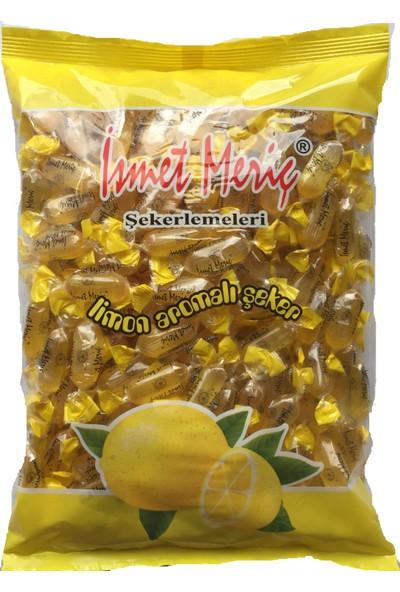 İsmet Meriç Limon Aromalı Şeker 1 kg