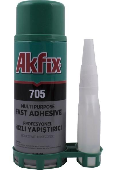 Akfix 705 Profesyonel Hızlı Yapıştırıcı 400Ml100Gr