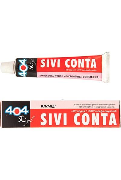404 Sıvı Conta Kırmızı 45 Gr. - 404