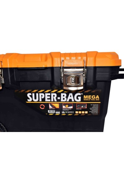 Super Bag Takım Çant.Metal Sap.Tekerli Asr-4026