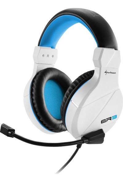 Sharkoon HDS Rush ER3 Beyaz Oyuncu Kulaklık