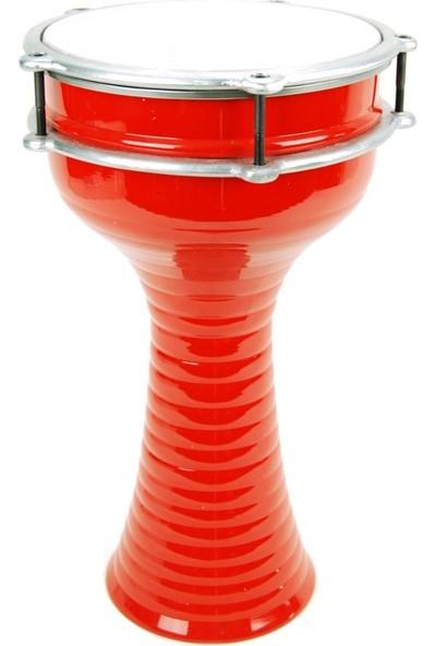 Ses Müzik Aletleri Da20Rd Darbuka Alüminyum 20 X 37 Kırmızı