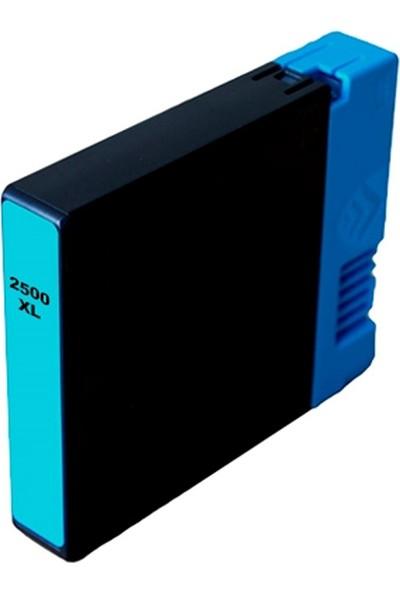 TNR Canon 2500XL Muadil Kartuş Mavi C Pigment