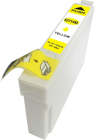 TNR Epson Muadil Kartuş 27XL Y E2714XL Sarı