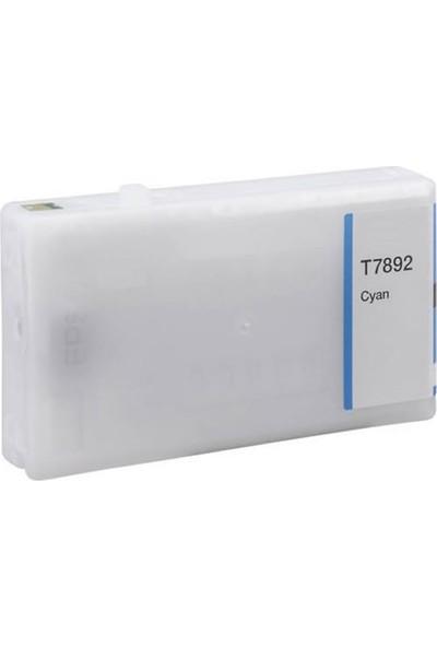 TNR Epson Muadil Kartuş E7892XXL C Mavi
