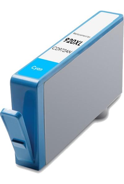 TNR HP Muadil Kartuş 920XL C Mavi