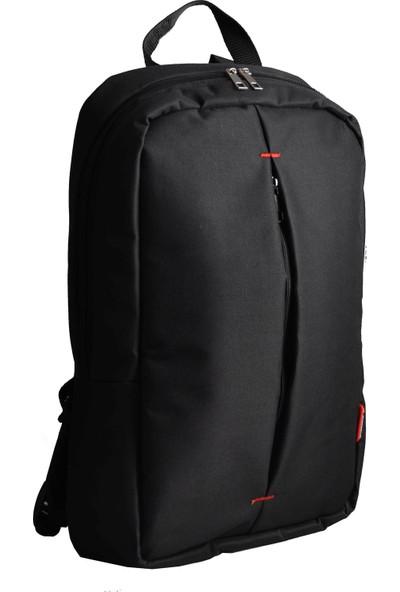 Classone PR-R150 15.6 inç Notebook Sırt Çantası -Siyah