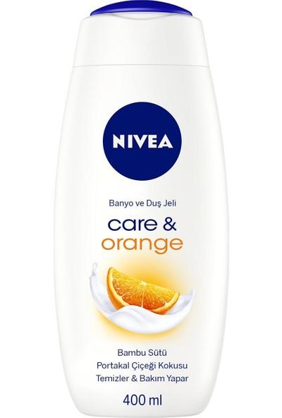 Nivea Care & Orange Banyo Ve Duş Jeli 400 Ml