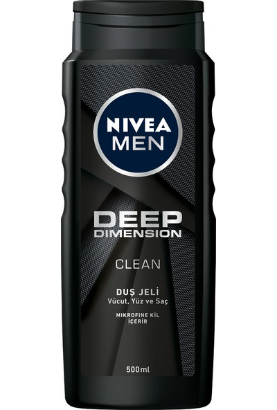 Nivea Men Deep Dımensıon Duş Jeli 500Ml
