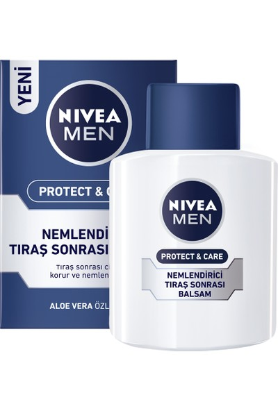 Nivea Protect & Care Nemlendirici Tıraş Sonrası Balsam 100Ml