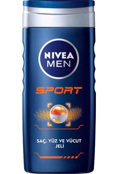 Nivea Sport Duş Jeli 250Ml Erkek