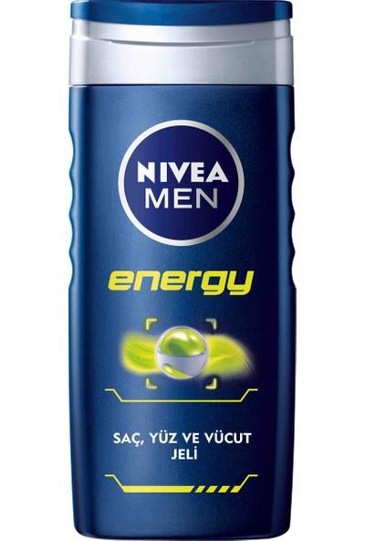 Nivea Energy Duş Jeli 250Ml Erkek