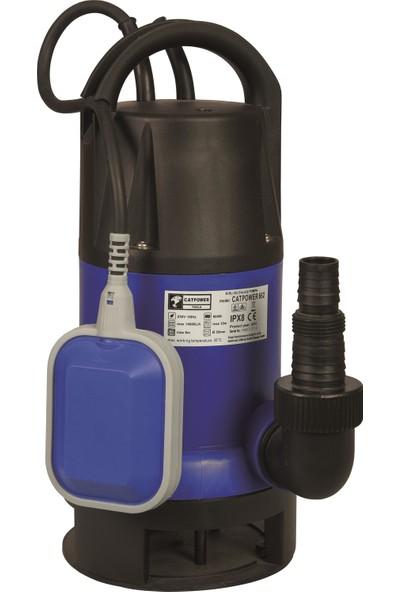 Catpower-662- Kirli Su Dalgıç Pompa, 900 W 14 Ton