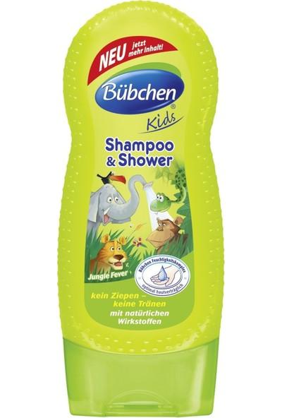 Bübchen Çocuk Şampuanı ve Duş Jeli Jungle Fever (Tropik Orman) 230ml