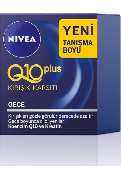 Nivea Q10 Kırışık Karşıtı Gece Bakım Kremi 20 ml