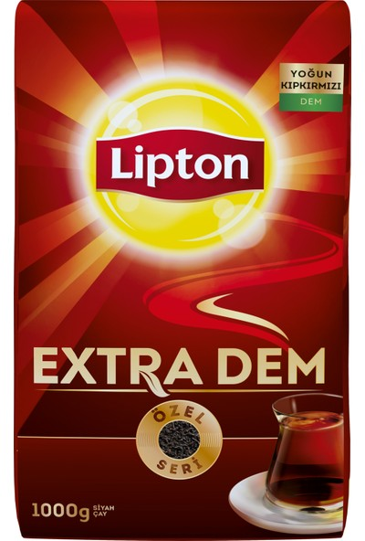Lipton Extra Dem Dökme Çay 1000 gram