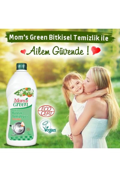 Mom's Green Bitkisel Elde Bulaşık Yıkama Deterjanı - Portakallı